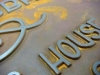 Iron Rust Finish Signage