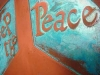 Copper Verdi Peace Plaque