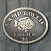 Camp Crappie Plaque