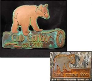 Bear Cub Sign