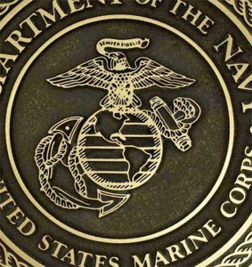 United States Marine Corps Plaque - Bronze Patina Finish by Atlas Signs and Plaques