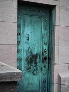 Door at Columbus Circle Entrance to Central Park, New York