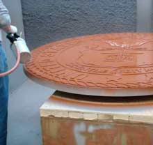 Cold Spraying LuminOre® Copper