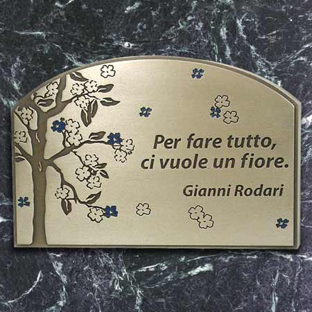 Blossom Tree Phrase Plaque