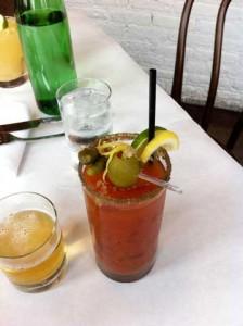 Sardine Bloody Mary