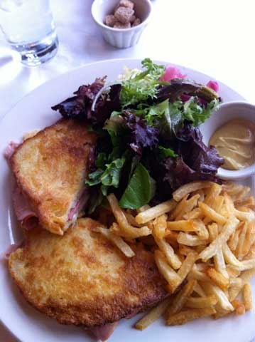 Sardine Croque Monsieur