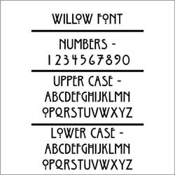 """Atlas Adds """"The Willow"""", A New Craftsman Era Address Plaque"""