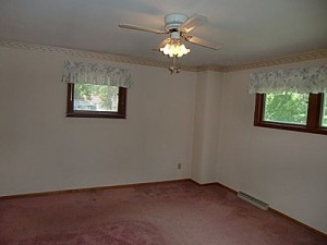 Master Bedroom Before remodeling