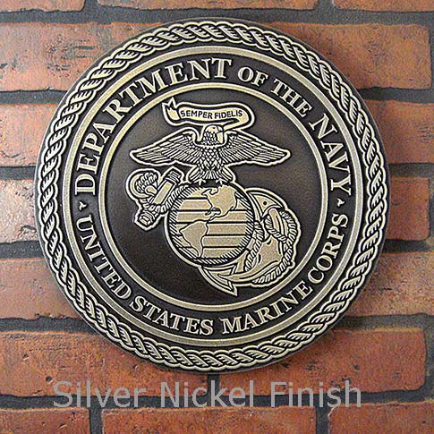 Marine Corps Plaque for Memorial Day