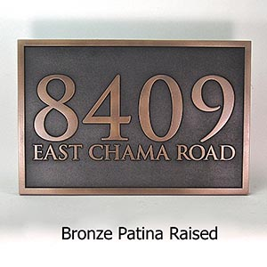 How to mount your address plaque on any surface