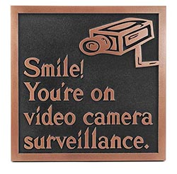 Video Surveillance Signs for Condo Associations
