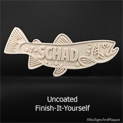 DIY Fish Plaque