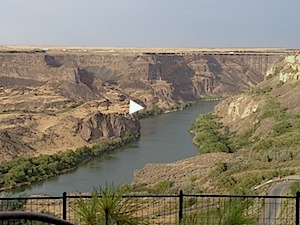Top of the Snake River Gorge