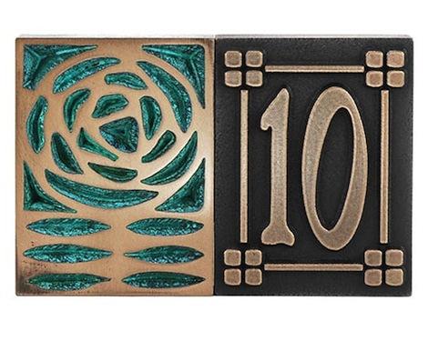 Individual Craftsman Style Tiles