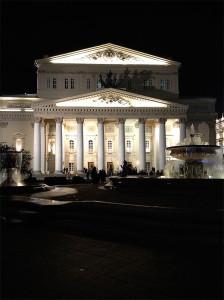 Recently renovated Bolshoi Theater