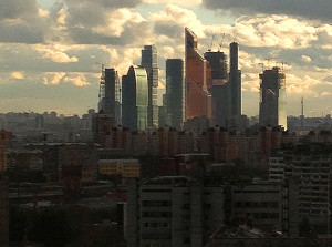 Moscow City is a Modern Financial Center