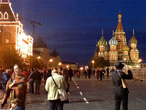 Moscow Red Square and St Basil's Cathedral