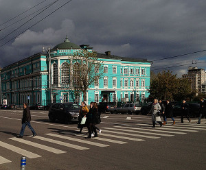Vibrant colors in Moscow