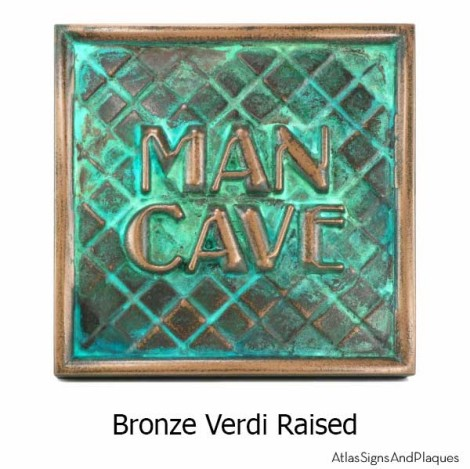 Label Your Man Cave with an Awesome 3D Man Room Sign