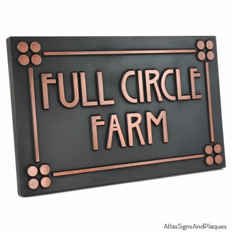 Custom Stickley Phrase Plaque