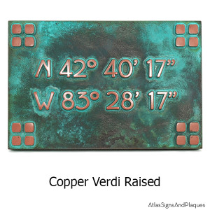 frank lloyd craftsman address copper verdi lat long